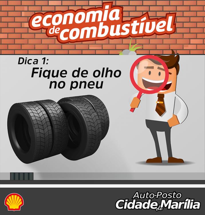 Série Economia de Combustível: DICA 1 - Fique de Olho No Pneu! 3