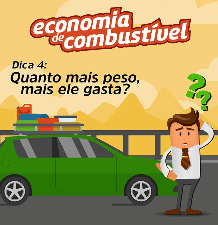 Série Economia de Combustível: DICA 4 - Quanto Mais Peso Mais Ele Gasta? 2