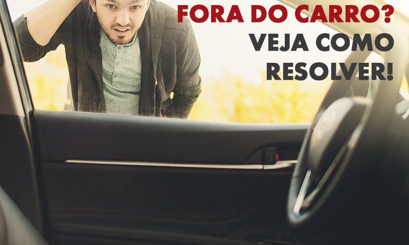 Como destrancar a porta do carro? 2