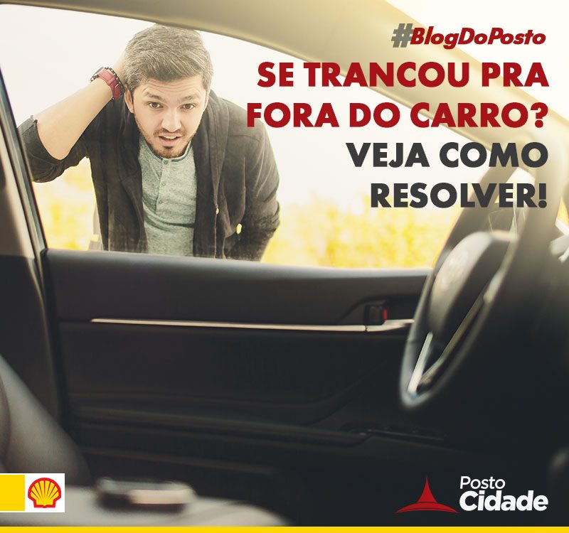 Como destrancar a porta do carro? 2