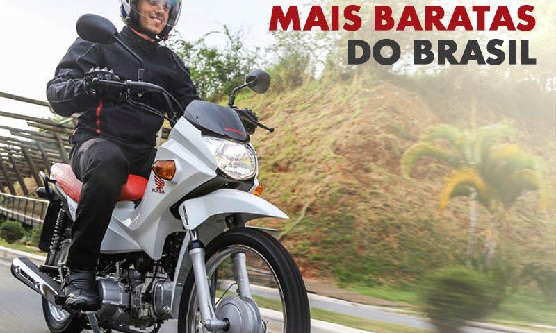 As 10 Motos Mais Baratas Vendidas no Brasil 2