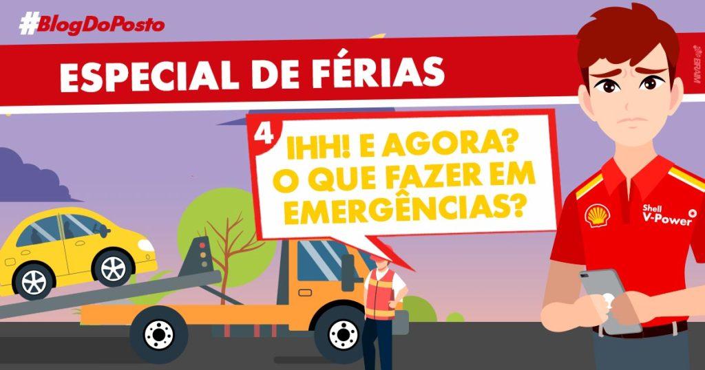 Especial de Férias - Telefone de Emergência das Rodovias
