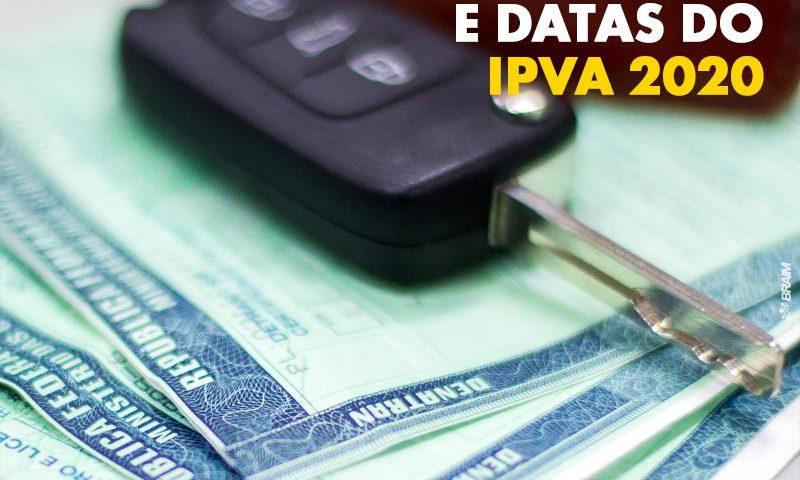 Valor do IPVA 2020: Confira a Tabela Com Datas de Vencimento 2