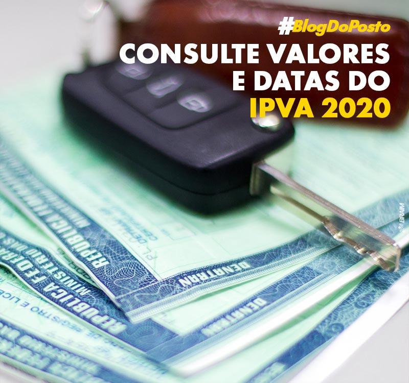 Valor do IPVA 2020: Confira a Tabela Com Datas de Vencimento 8