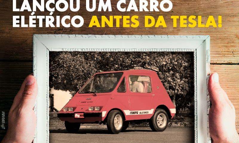 O Primeiro Carro Elétrico Brasileiro, Lançado 34 Anos Antes da Tesla Lançar o Dela! 2
