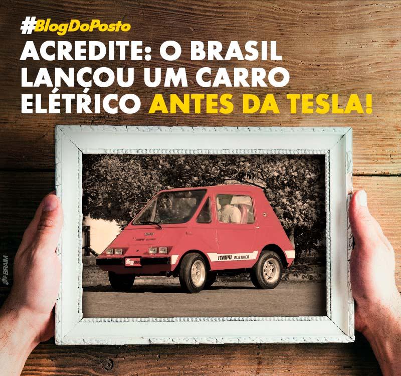 O Primeiro Carro Elétrico Brasileiro, Lançado 34 Anos Antes da Tesla Lançar o Dela! 11