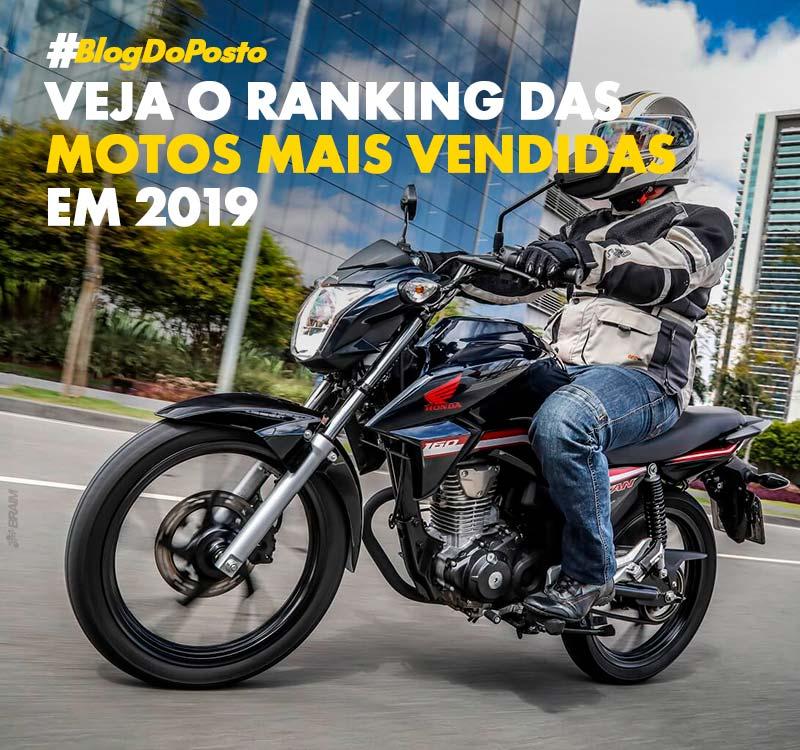 As 40 Motos Mais Vendidas de 2019 de Acordo Com a Fenabrave 6